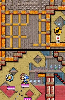 Yoshi's Island DS (NDS)  © Nintendo 2006   2/7