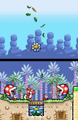 Yoshi's Island DS (NDS)  © Nintendo 2006   4/7