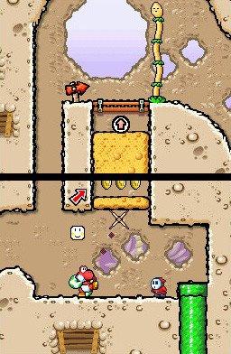 Yoshi's Island DS (NDS)  © Nintendo 2006   5/7