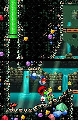 Yoshi's Island DS (NDS)  © Nintendo 2006   6/7