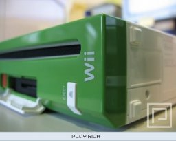 Nintendo Wii Development Kit (Green and White)   © Nintendo 2006   (WII)    1/5