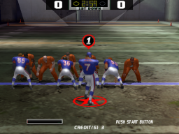 Dirty Pigskin Football (ARC)  © Sammy 2004   3/4
