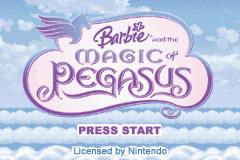 Barbie And The Magic Of Pegasus (GBA)  © VU Games 2005   1/4