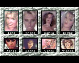 Cover Girl Strip Poker (AMI)  © On-Line 1991   2/3