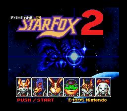 StarFox 2  © Nintendo 2017  (SNES)   1/3