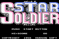 Star Soldier (GBA)   © Nintendo 2004    1/3