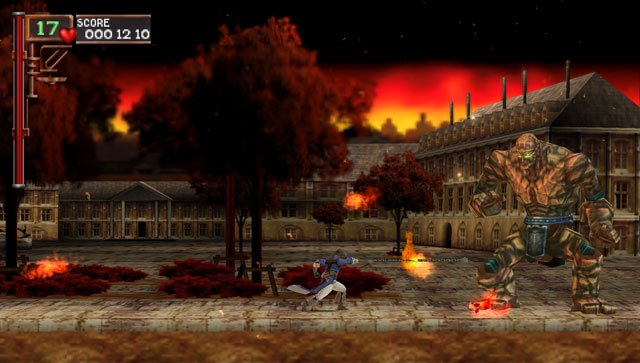 Castlevania: The Dracula X Chronicles (PSP)   © Konami 2007    5/11