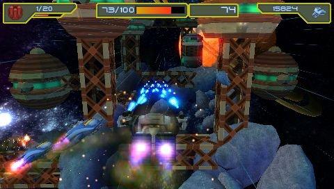 Ratchet & Clank: Size Matters (PSP)  © Sony 2007   4/6