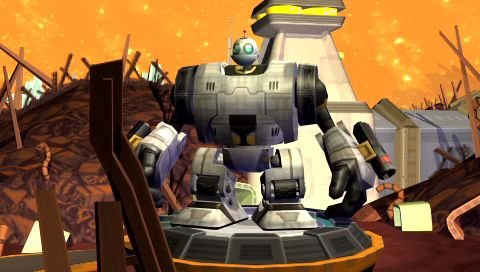 Ratchet & Clank: Size Matters (PSP)  © Sony 2007   5/6