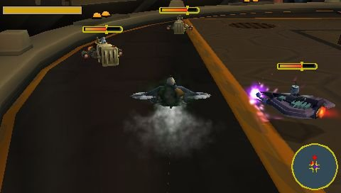 Ratchet & Clank: Size Matters (PSP)  © Sony 2007   6/6