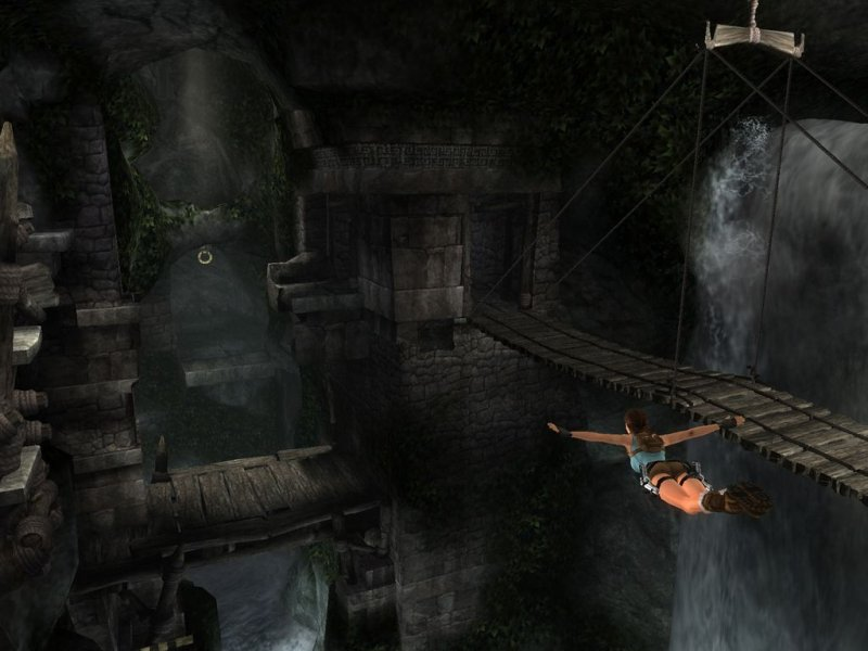 Tomb Raider: Anniversary (PS2)   © Eidos 2007    4/5
