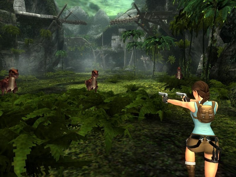 Tomb Raider: Anniversary (PS2)   © Eidos 2007    5/5