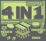 4-In-1 Fun Pak (GB)  © Interplay 1992   1/3