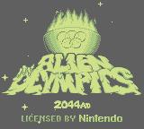 Alien Olympics 2044 AD (GB)  © Ocean 1992   1/3