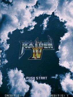Raiden IV (ARC)  © Taito 2007   3/4