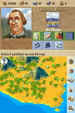 Anno 1701: Dawn Of Discovery (NDS)  © Disney Interactive 2007   5/8