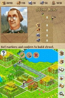 Anno 1701: Dawn Of Discovery (NDS)  © Disney Interactive 2007   6/8