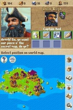 Anno 1701: Dawn Of Discovery (NDS)  © Disney Interactive 2007   7/8