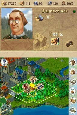 Anno 1701: Dawn Of Discovery (NDS)  © Disney Interactive 2007   8/8