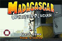 Madagascar: Operation Penguin (GBA)  © Activision 2005   1/3