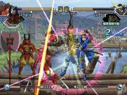 Sengoku Basara X (ARC)  © Capcom 2007   3/5