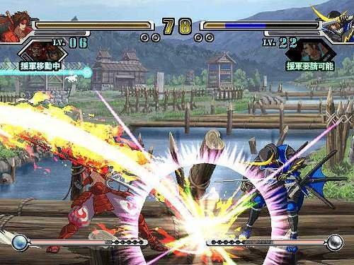 Sengoku Basara X (ARC)  © Capcom 2007   4/5
