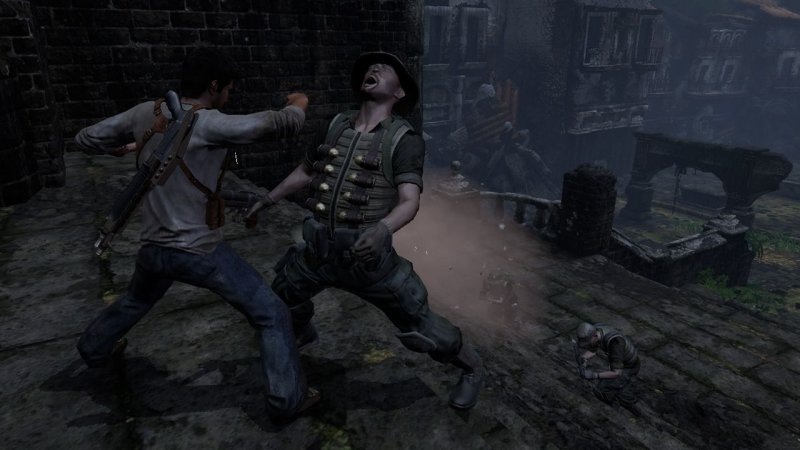 Uncharted: Drake's Fortune (PS3)  © Sony 2007   4/5