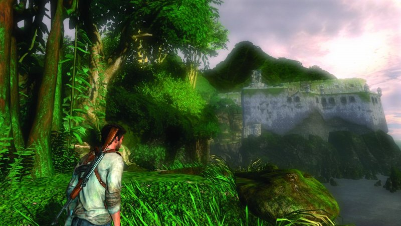 Uncharted: Drake's Fortune (PS3)  © Sony 2007   5/5