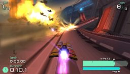 Wipeout Pulse (PSP)  © Sony 2007   1/8
