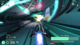 Wipeout Pulse (PSP)  © Sony 2007   2/8