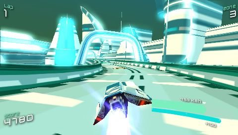 Wipeout Pulse (PSP)  © Sony 2007   6/8