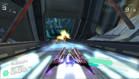Wipeout Pulse (PSP)  © Sony 2007   7/8