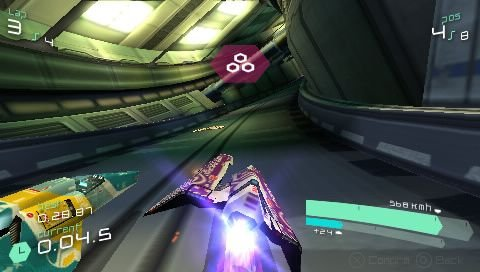 Wipeout Pulse (PSP)  © Sony 2007   8/8