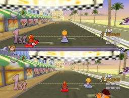 Action Girlz Racing (WII)  © Popcorn Arcade 2007   2/5