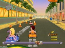 Action Girlz Racing (WII)  © Popcorn Arcade 2007   3/5