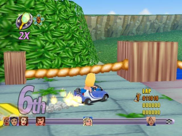 Action Girlz Racing (WII)  © Popcorn Arcade 2007   5/5