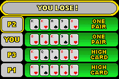 World Championship Poker (GBA)  © Crave 2004   3/3