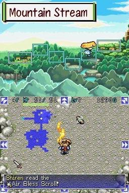 Mystery Dungeon: Shiren The Wanderer (NDS)  © Sega 2006   6/8
