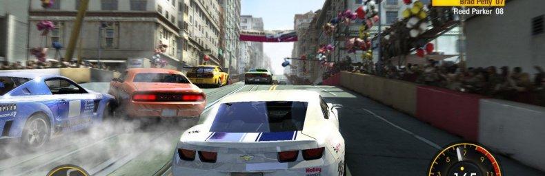 <h2 class='titel'>Grid (2010)</h2><h2 class='score'>6/10</h2><div><span class='citat'>&bdquo;Fartoplevelsen er ikke imponerende, men spillet har en - for arcade-racere - tyngde og realisme, der ofte savnes, uden at der er gået på kompromis med, at det stadig bare er sjovt.&ldquo;</span><span class='forfatter'>- RJK</span></div>