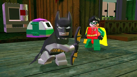 Lego Batman: The Videogame (PS3)   © Warner Bros. 2008    10/11