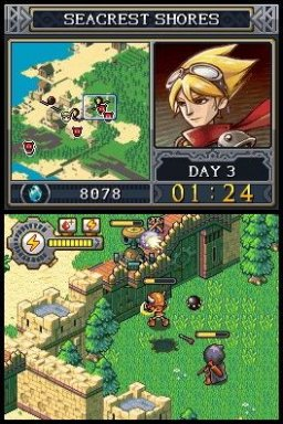 Lock's Quest (NDS)   © THQ 2008    3/3