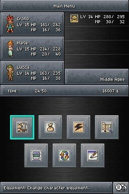 Chrono Trigger (NDS)  © Square Enix 2008   3/3