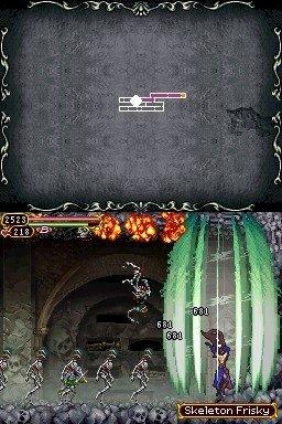 Castlevania: Order Of Ecclesia (NDS)  © Konami 2008   3/6
