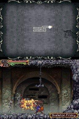 Castlevania: Order Of Ecclesia (NDS)  © Konami 2008   5/6
