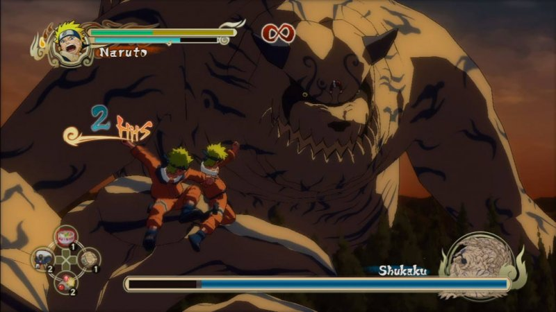 Naruto: Ultimate Ninja Storm (PS3)  © Bandai Namco 2008   4/4