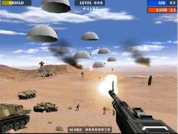 Beach Head 2003: Desert War (ARC)  © Global VR 2003   3/3