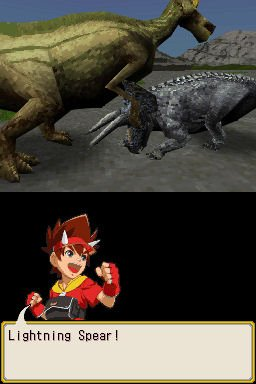 Dinosaur King (NDS)  © Sega 2007   3/4