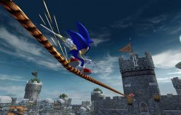 Sonic And The Black Knight  © Sega 2009  (WII)   1/3