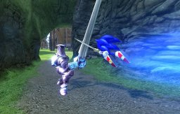 Sonic And The Black Knight  © Sega 2009  (WII)   2/3