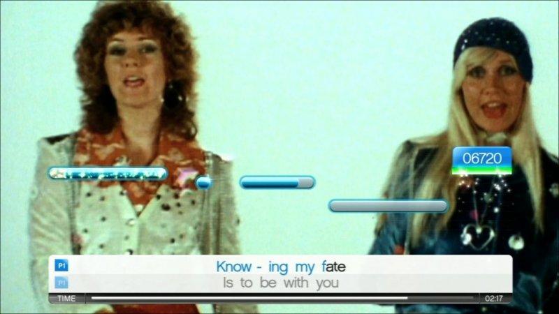 SingStar: Abba (PS2)  © Sony 2008   5/7